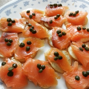 Picture of Salmon Hors Doeuvres